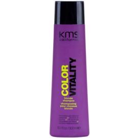 KMS California Color Vitality sampon a szőke és melírozott hajra  300 ml