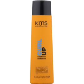 KMS California Curl Up condicionador restaurador para cabelo ondulado  250 ml