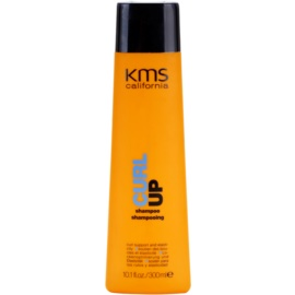 KMS California Curl Up champô hidratante  para cabelo ondulado  300 ml