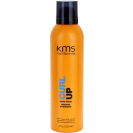 KMS California Curl Up pěnové tužidlo pro vlnité vlasy  200 ml