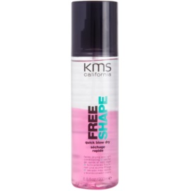 KMS California Free Shape bezoplachový sprej pro rychlejší foukanou  200 ml