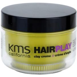 KMS California Hair Play modelovací hlína pro matný vzhled  125 ml