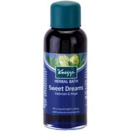Kneipp Bath óleo de banho para um sono tranquilo Sweet Dreams 100 ml