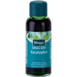 Kneipp Bath olej do kúpeľa pri nádche eukalyptus  100 ml