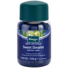 Kneipp Bath soľ do kúpeľa pre pokojný spánok Sweet Dreams 500 g