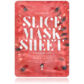 KOCOSTAR Slice Mask Sheet Watermelon Brightening and Moisturising Sheet Mask  20 ml