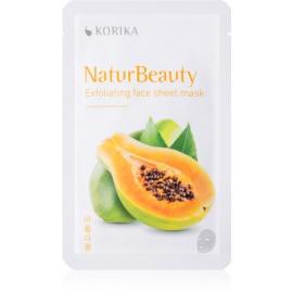 KORIKA NaturBeauty masque exfoliant en tissu  20 g