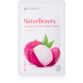 KORIKA NaturBeauty Brightening Face Sheet Mask  20 g