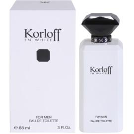 Korloff In White eau de toilette férfiaknak 88 ml