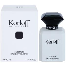 Korloff In White eau de toilette férfiaknak 50 ml