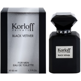 Korloff Korloff Private Black Vetiver eau de toilette unisex 50 ml