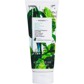 Korres Mint Tea Hydrating Body Lotion  200 ml
