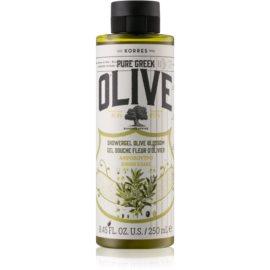 Korres Olive & Olive Blossom gel de dus  250 ml