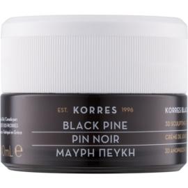 Korres Face Black Pine crème de jour liftante et raffermissante pour peaux normales à mixtes  40 ml