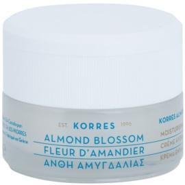 Korres Face Almond Blossom hydratační krém pro smíšenou a mastnou pleť  40 ml