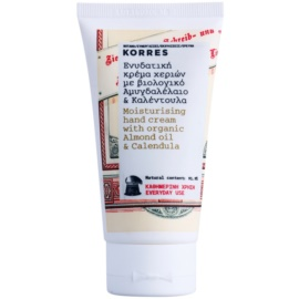 Korres Body Almond Oil & Calendula Moisturising Hand Cream For Everyday Use  75 ml