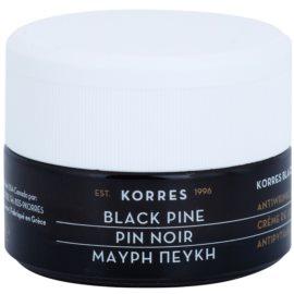 Korres Black Pine Lifting-Tagescreme gegen Falten für trockene bis sehr trockene Haut  40 ml