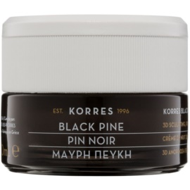 Korres Face Black Pine festigende Nachtcreme mit Lifting-Effekt  40 ml