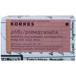 Korres Body Pomegranate tuhé mýdlo pro mastnou pokožku  125 g