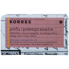Korres Body Pomegranate tuhé mydlo pre mastnú pokožku  125 g