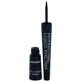 Korres Decorative Care Black Volcanic Minerals tekuté oční linky odstín 01 Black  2,5 ml
