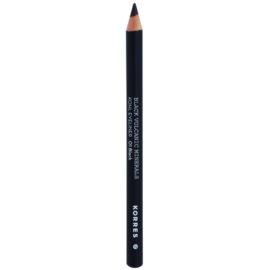 Korres Decorative Care Black Volcanic Minerals молив за очи  цвят 01 Black  1,14 гр.