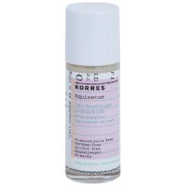 Korres Body Equisetum dezodorant roll-on bez obsahu hliníkových solí 24h  30 ml