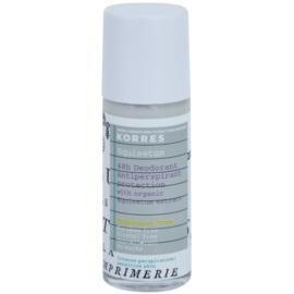 Korres Body Equisetum deodorant roll-on fara parfum 48 de ore  30 ml