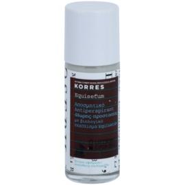 Korres Equisetum desodorante roll-on  48h  30 ml