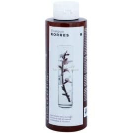 Korres Hair Almond and Linseed šampon pro suché a poškozené vlasy  250 ml