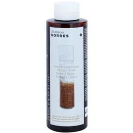 Korres Hair Rice Proteins and Linden champô para cabelo fino  250 ml