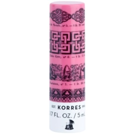 Korres Decorative Care Mandarin tónovací balzám na rty SPF 15 odstín Pink (Lip Butter Stick) 5 ml