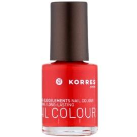 Korres Decorative Care Nails lac de unghii culoare 48 Coral Red  10 ml