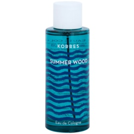 Korres Summer Wood Eau De Cologne unisex 100 ml