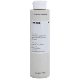 Korres Face White Tea gel purifiant en profondeur  200 ml
