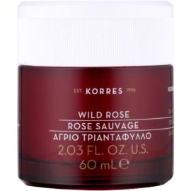 Korres Face Wild Rose krem rozjaśniająco-nawilżający do skóry tłustej i mieszanej  60 ml