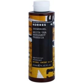 Korres White Tea (Bergamot/Freesia) sprchový gel unisex 250 ml