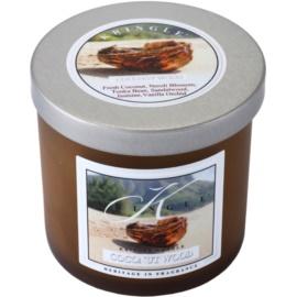 Kringle Candle Coconut Wood vela perfumada  141 g pequeño