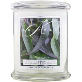 Kringle Candle Eucalyptus Mint vonná svíčka 411 g