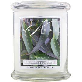 Kringle Candle Eucalyptus Mint vonná svíčka 411 g