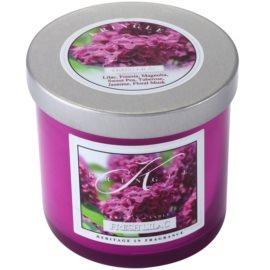 Kringle Candle Fresh Lilac vonná svíčka 141 g malá
