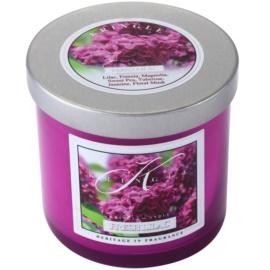 Kringle Candle Fresh Lilac świeczka zapachowa  141 g mała