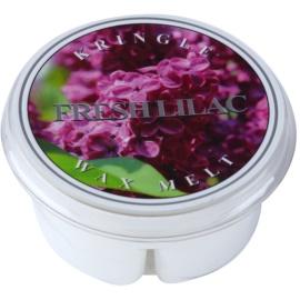 Kringle Candle Fresh Lilac ceară pentru aromatizator 35 g