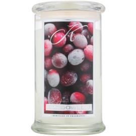 Kringle Candle Frosted Cranberry candela profumata 624 g