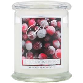 Kringle Candle Frosted Cranberry candela profumata 411 g