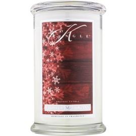 Kringle Candle Frosted Mahogany vonná sviečka 624 g
