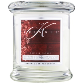 Kringle Candle Frosted Mahogany vonná svíčka 127 g