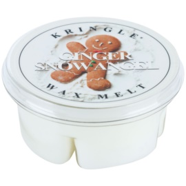 Kringle Candle Ginger Snow Angel Wachs für Aromalampen 35 g