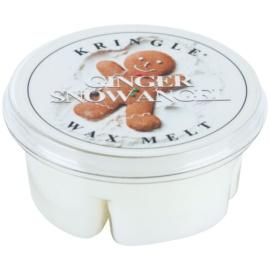 Kringle Candle Ginger Snow Angel cera derretida aromatizante 35 g