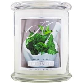 Kringle Candle Fresh Mint illatos gyertya  411 g